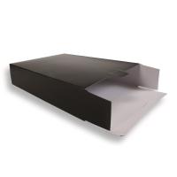 Zwarte Kartonnen Verzendverpakkingen 305 + 90 x 420 mm