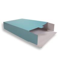Blauwe Kartonnen Verzendverpakkingen 305 + 90 x 420 mm