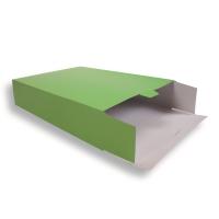 grüne Versandverpackung (Karton) 305 + 90 x 420 mm
