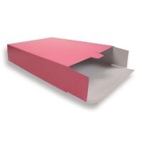 Fuchsia Kartonnen Verzendverpakkingen 305 + 90 x 420 mm