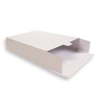 Witte Kartonnen Verzendverpakkingen 305 + 90 x 420 mm