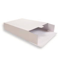 weisse Versandverpackung (Karton) 305 + 90 x 420 mm