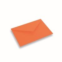 Papieren envelop 156x220 Donkeroranje