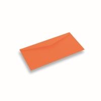 Papieren envelop 110x220 Donkeroranje