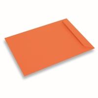 Papieren envelop 220x312 Donkeroranje