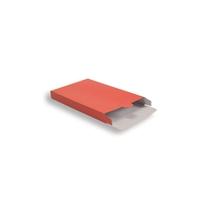 Koraal Rood Kartonnen Verzendverpakkingen 305 + 90 x 420 mm
