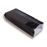 Black Side Gusset Pouches - 500 g