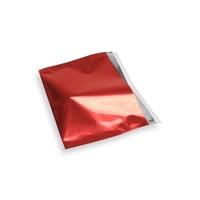Snazzybag A5 / C5 rood ondoorzichtig
