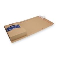 Verzendverpakking variabele hoogte A5+ bruin