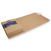 Verzendverpakking variabele hoogte C4 bruin