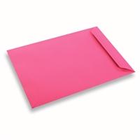 Enveloppe Papier 220x312 Rose Fuschia