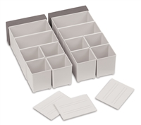 Accessory kit for SYS - Combi and Sort, Light Gray