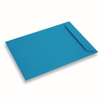 Papieren envelop 220x312 Koningsblauw