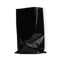 Vlakke zakken zwart 40 x 60 cm (150mu)