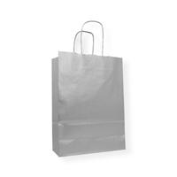 Kraft Paper Carrier Bag 320 x 130 x 425 zilver
