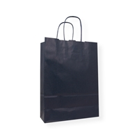 Kraft Paper Carrier Bag 230 x 100 x 320 blauw