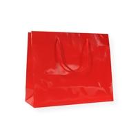 Glossy Bag Red 16x8x25cm+5cm