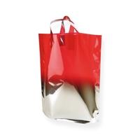 Fadebag rood / zilver 390 x 450