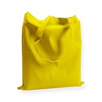 Katoenen draagtas 38x42cm geel