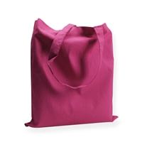 Katoenen draagtas 38x42cm roze