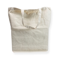 Katoenen draagtas 41x42x7cm ecru (300 grams)