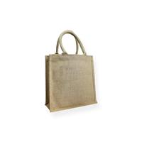 Jute Shoppingbags klein 26+10x26cm