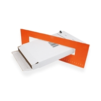Versandkarton für Briefkasteneinwurf A5 / C5 weiss