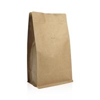 Box pouch Kraft paper 1.000 gram Valve Coffeebeans