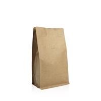 Box pouch Kraft paper 500 gram Valve Coffeebeans