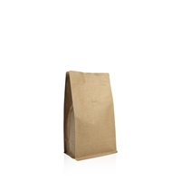 Box pouch Kraft paper 250 gram Valve Coffeebeans