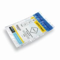 Safetybag 165x275mm Internationaal 'Cito' met gele band