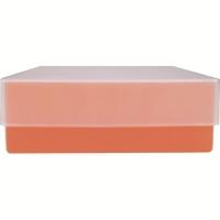 Storage box voor 81 buizen, rood, b50r