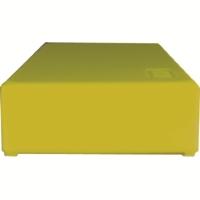 Storage box voor 50 slides, geel, k50y