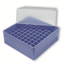 Storage box voor 81 buizen, violet, b80v