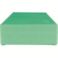 Storage box voor 50 slides, groen, k50g