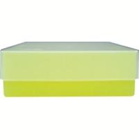 Storage box voor 81 buizen, geel, b50y