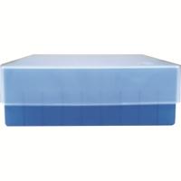Storage box voor 81 buizen, blauw, b50b