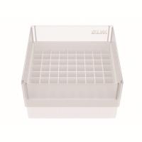Storage box voor 81 buizen, wit, b80w