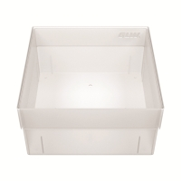 Storage box, without dividers, natural, b01