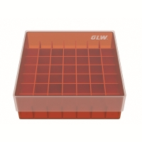 storage box voor 49 buizen, rood, b47r