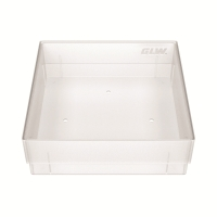 Storage box, without dividers, natural, b40