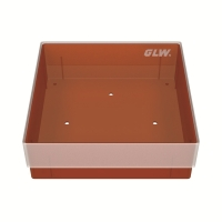 Storage box, zonder verdeling, rood, b40r