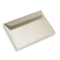 Enveloppe papier 125 x 175 Blanc Perle