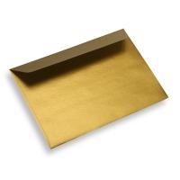 Enveloppe papier 125 x 175 dorée
