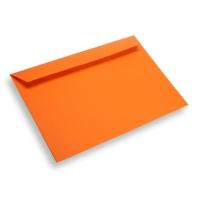 Papieren envelop A4 / C4 oranje