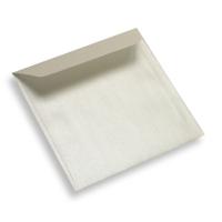 Papieren envelop 130 x 130 parelmoer