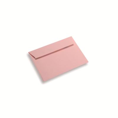 Papieren envelop A6 / C6 lichtroze