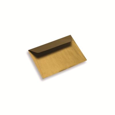 Papieren envelop A6 / C6 sunshine gold