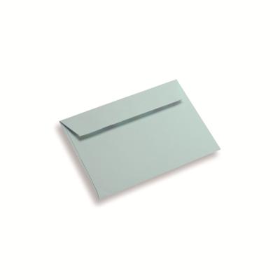 Papieren envelop 120 x 185 lichtblauw