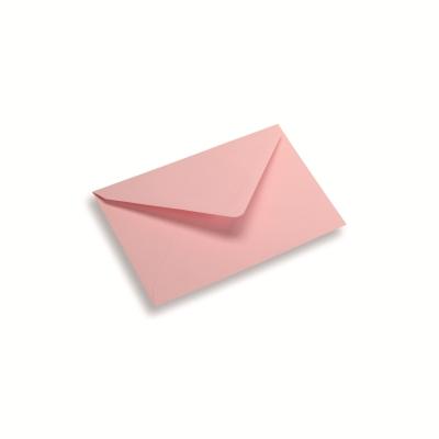 Papieren envelop 120 x 185 lichtroze